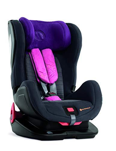 Silla de seguridad para niños Avionaut Glider Softy | silla de coche grupo 1/2 (9kg-25kg, 60cm-125cm) | para niños de 9 meses a 7 años | Pink/Grafito