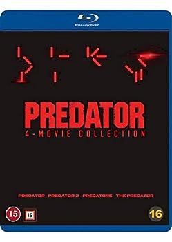 Predator 1-4 - 4-Disc Set   Predator / Predator 2  Predator Two  / Predators / The Predator   [ Blu-Ray Reg.A/B/C Import - Denmark ]