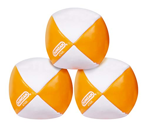 Duncan Toys Juggling Balls - [Pack of 3] Multicolor, Vinyl Shells, Circus Balls with 4 Panel Design,...