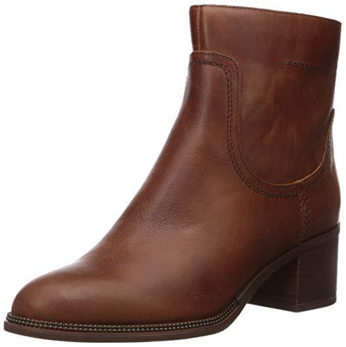 Franco Sarto Women's Liliana Chelsea Boot, Cognac Leather, 6 M US