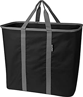 tecmac New Laundry Tote Large Foldable Clothes Hamper Bag LaundryCaddy CarryAll XL Pop