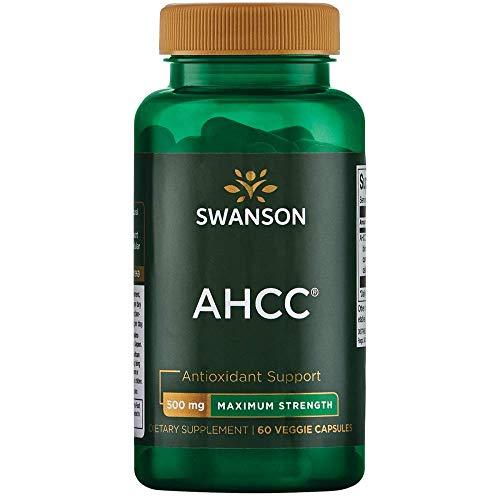 Swanson Ahcc - Maximum Strength 500 mg 60 Veg Caps