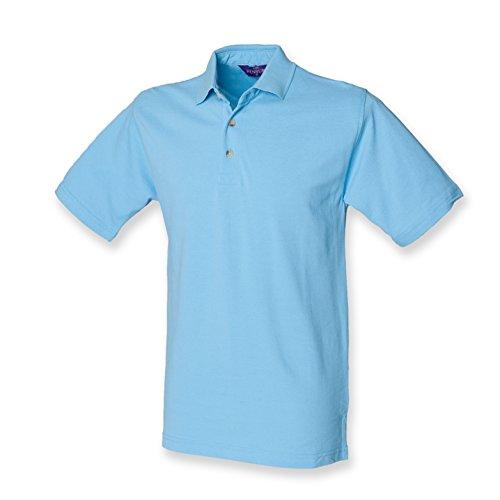 Henbury - Polo - - Polo - Col polo - Manches courtes Homme - Bleu - Sky - Large