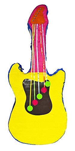 Das Kostümland Pinata - Geburtstags Dekoration - Gitarre - Tolles Geschenk für Kindergeburtstag, Hochzeit oder Mottoparty