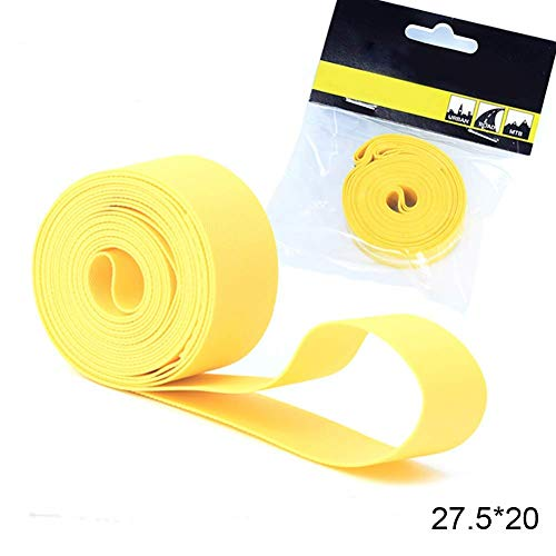 Wghz Practical Tires, 2PCS Bicycle Tire Liner Anti-Puncture Tape Bike Inner Tube Pad Rim Liner Explosion-Proof