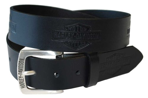 Harley Davidson leren riem Tradition Bar & Shield Logos HDMBT10576 34 EU