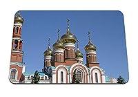 22cmx18cm マウスパッド (ロシア教会のドーム) パターンカスタムの マウスパッド