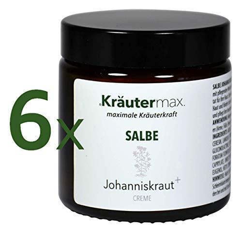 Johanniskraut-Salbe hochdosiert 6 x 100 ml Natur-Kosmetik