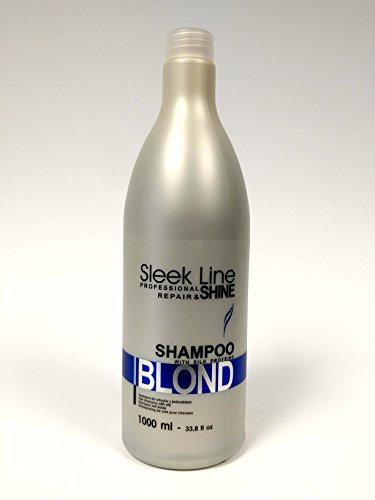 stapiz elegante línea profesional de reparación & brillo cabello Champú Proteínas de...