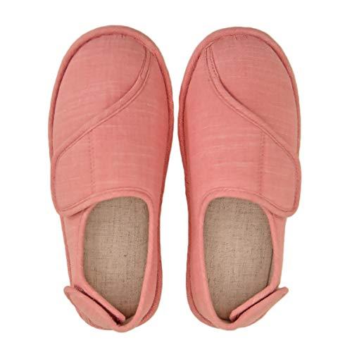 [Sanaris] ルームシューズ 高齢者 介護シューズ 女性 リハビリシューズ 軽量 介護用靴 介護用のスリッパ 介護靴 滑り止め