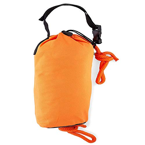 Best Marine Throw Bag Rescue Rope, Throwable Flotation Device, with 66/99 Feet of Marine Line, Safety Equipment for Kayak and Boat Emergency