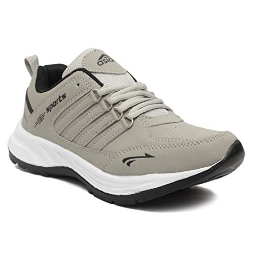 ASIAN Cosco Sports Running Shoes for Men (Size: 9 UK, Color: Black...