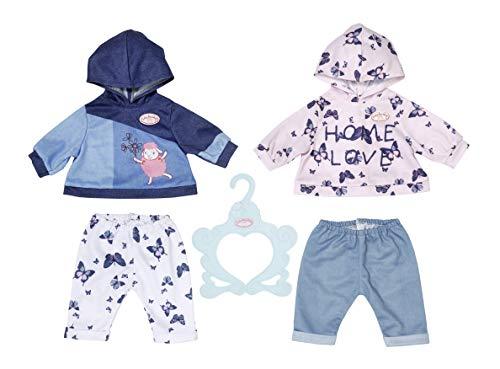 Zapf Creation 704202 Baby Annabell Baby-Anzüge 43 cm - Puppenkleidung Set bestehend aus Pullover und Hose