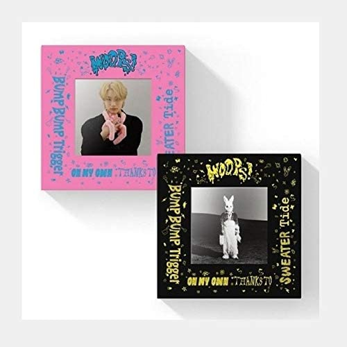 Special sale item Woodz Woops 2nd Super beauty product restock quality top Mini Album 2 Set Ph PhotoBook+6p CD+84p Version