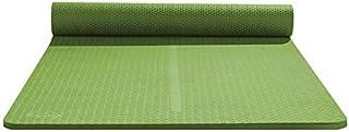 NYKK Exercise Yoga Mat Thick Non-Slip Yoga Practice Mat Beginner Yoga Mat Home Floor Mat Indoor Flat Support Exercise Mat ...