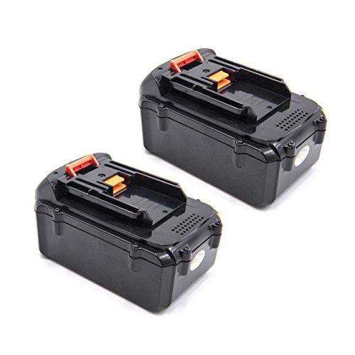 vhbw 2x Baterías Li-Ion 4000mAh (36V) para herramienta eléctrica powertools tools Dolmar AM-3643 Batería cortacésped