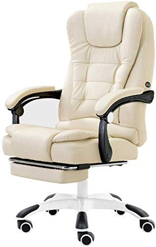 aipipl Cozy Office Chair Gaming Chair Executive Recline Task Chair PU Desk Chair With High Back And Tilt Function Bearing Capacity 150kg