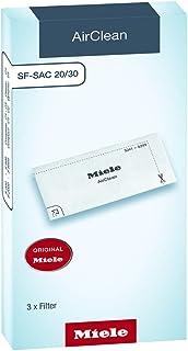 Miele Original Zubehör SF SAC 20/30 AirClean Filter / sicherer Staubeinschluss / 2 Filtertypen zum Zurechtschneiden / 3 Filter / für Staubsauger