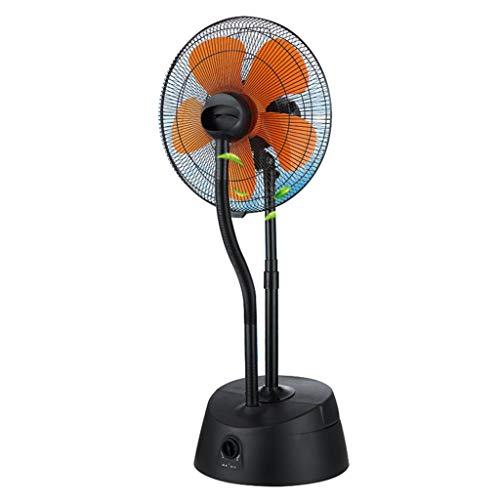 Industrieventilator Standventilatoren mit oszillierendem Lüfter 50-Zoll-Luftbefeuchter, drehbarer Standventilator mit 5 Flügeln, 3 Geschwindigkeitsstufen automatisch Wickeln