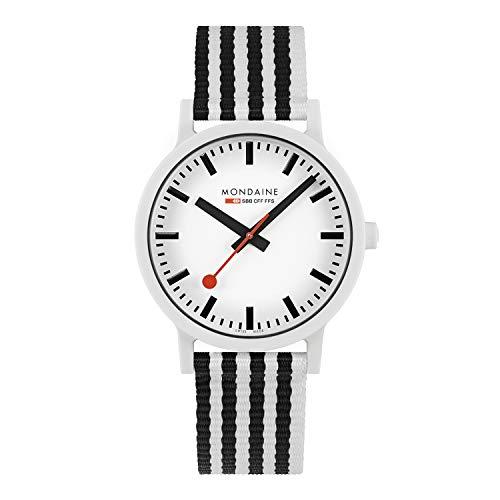 Mondaine Essence, Nachhaltige Uhr Für Damen und Herren, MS1.41110.LA, 41 MM.