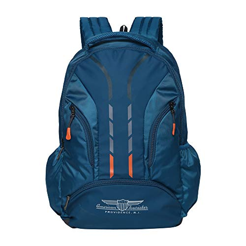 American Tourister Snap NXT 01 Teal Laptop Backpack