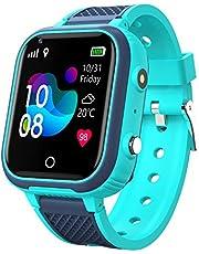 RAPG 4G Smart Horloge Kind Camera Gps Wifi IP67 Waterdicht Kind Smartwatch Video Call Monitoring Tracker Real-Time Tracking Voor Kinderen Geschenken