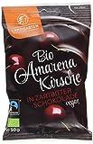 Landgarten Bio Amarenakirsche in Zartbitter-Schokolade, 50 g 1 x 50 gr -