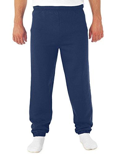Jerzees - Pantalon de Sport - Homme J Bleu Marine Small