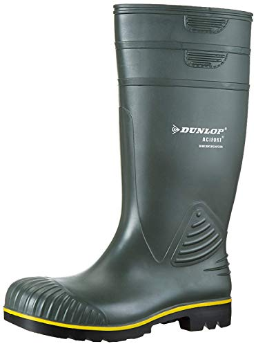 Dunlop Sports B440631 Acifort KNIE GROEN 45, Stivali di Gomma Unisex-Adulto, Verde, EU