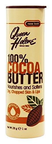 Queen Helene Bâton de beurre de cacao 100% 28 ml Pack of 2