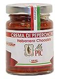 Crema di peperoncino Habanero Chocolate (90 g) - Mr PIC: il Peperoncino Toscano di alta qualità - Carmazzi: la più ampia linea di prodotti piccanti in Italia
