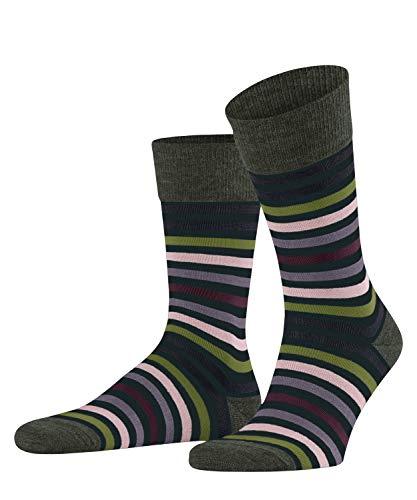 FALKE Herren Tinted Stripe M SO Socken, Grün (Marble 7991), 43-46