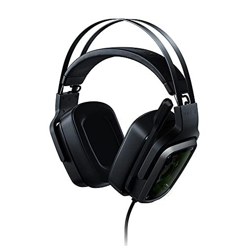 Razer Tiamat 7.1.V2 - Auriculares para gaming (iluminación Chroma, sonido evolvente True 7.1, unidad de control de audio, comodidad y durabilidad) color negro
