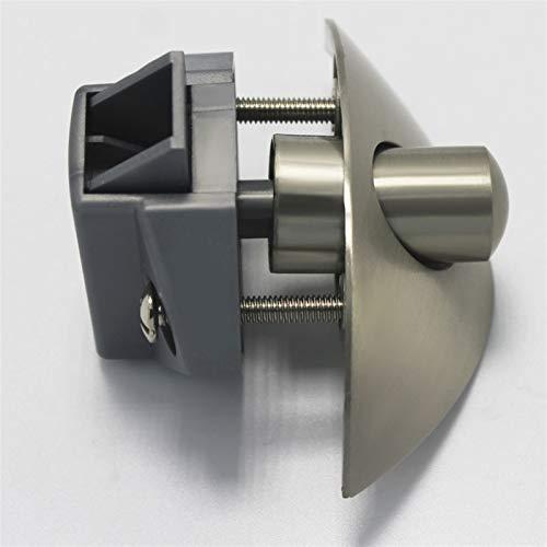 LULIJP Push-Latch sin Llave pestillo de Empuje Catch RV Armario del gabinete del cajón Caravana Cerradura de los Muebles de la manija de Puerta del botón de función de Bloqueo de Puerta