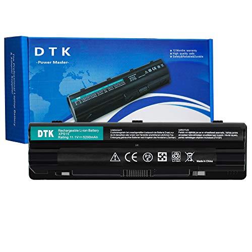 DTK Laptop Batterie Li-ion Akku für Dell XPS 15 L501x L502x 17 L701x L702x JWPHF J70W7 P09E P09E002 P11F R4CN5 R795X 08PGNG 8PGNG (5200mAh 11.1V)