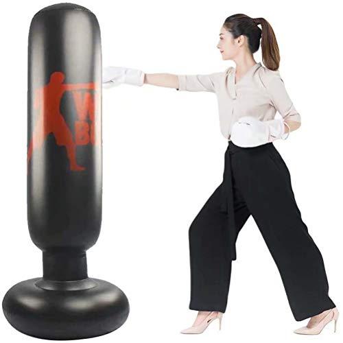 パンチバッグストレス解消サンドバッグ気分転換パンチキックストレス発散エクササイズストレッチ子供大人エアーポンプ付き