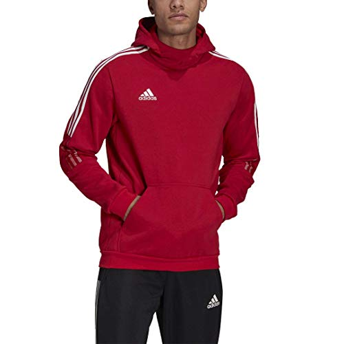 adidas mens Tiro 21 Sweat Hoodie Team Power Red XX-Large
