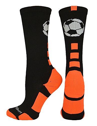 MadSportsStuff Soccer Ball Athletic Crew Socks