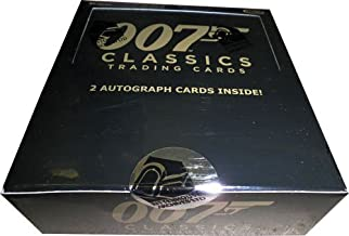James Bond 007 Classics Factory Sealed Hobby Box of 24 Packs with 2 Autograph Cards