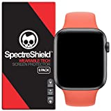 [6-Pack] Spectre Shield Screen Protector for Apple Watch 40mm (Series 6 5 4 SE) iWatch Case Friendly Apple Watch 40mm Series 6, 5, 4, SE Screen Protector Accessory TPU Clear Film