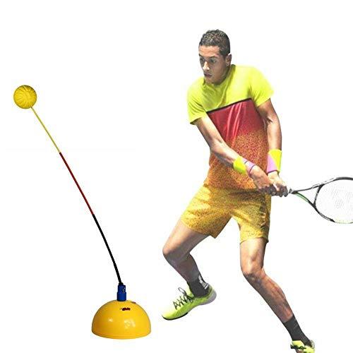 JinYiZhaoMing Tennis Principianti Tennis Trainer Swing Power Training Trainer con corda Tennis Pratica Racchette oscillanti adatto per bambini e adulti