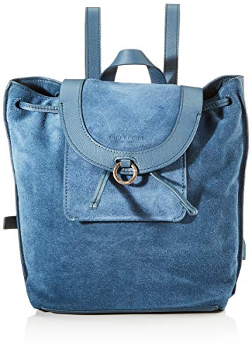 Liebeskind Berlin Scouri 2 Backpack Rucksackhandtasche, Medium (33 cm x 27 cm x 15cm), china blue