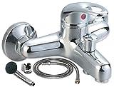 Badewannenarmatur mit Handbrause (Brauseschlauch) | Wannen Armatur | Einhebelmischer mit Handbrause | Badarmatur | Küchenarmatur | Waschbeckenrmatur | Wasserhahn | Badewanne | Badezimmerarmatur |