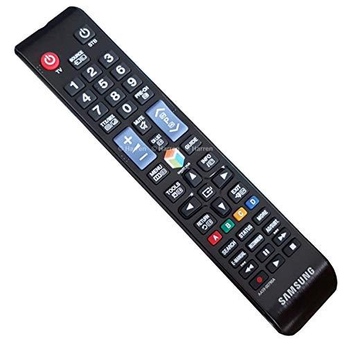 Samsung AA59–00790A–Ersatz-Fernbedienung für TV, Schwarz