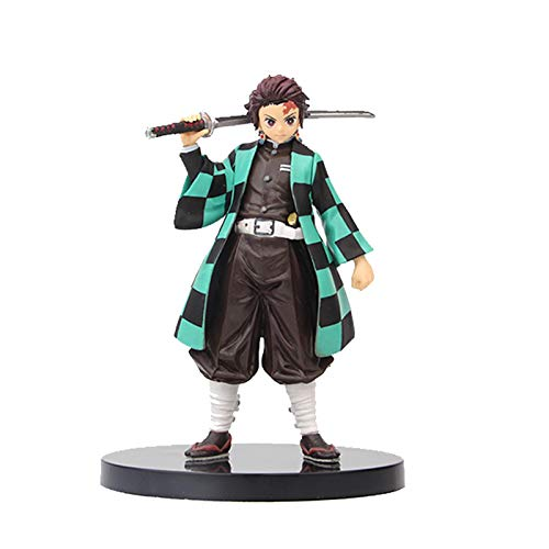 QINGLOU Inch Japan Anime Figure Cool Demon Slayer Action Figurine Demon Blade Model Toys Statues for Fans masterly