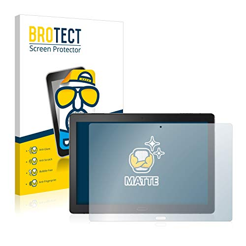 brotect 2-Pack Screen Protector Anti-Glare compatible with Lenovo Tab P10 (10,1') Screen Protector Matte, Anti-Fingerprint Protection Film