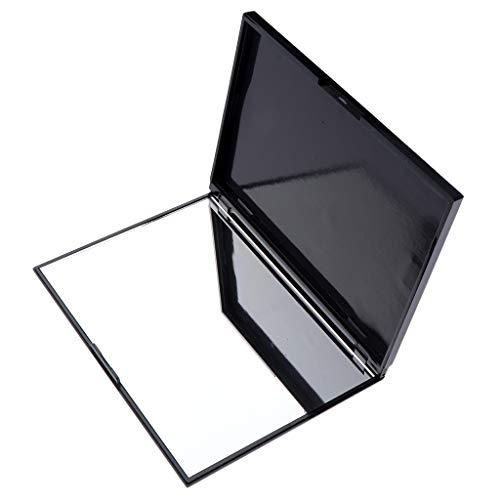 Fenteer Leer Magnetische Palette Make up Kosmetische DIY Palette Schminkpalette mit Spiegel