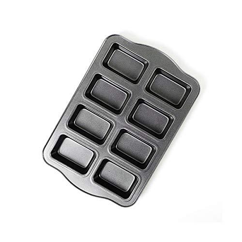 Mini-Kastenform mit Antihaftbeschichtung aus Karbonstahl 8 Mulden