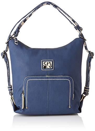 ctta caminatta Malecon, Bolso mochila para Mujer, Azul (Marino) 10x31x29 cm (W x H x L)