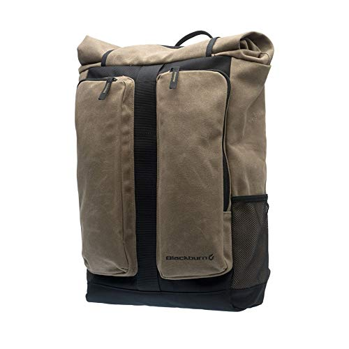 Blackburn Wayside Backpack Pannier Waxed Canvas, One Size